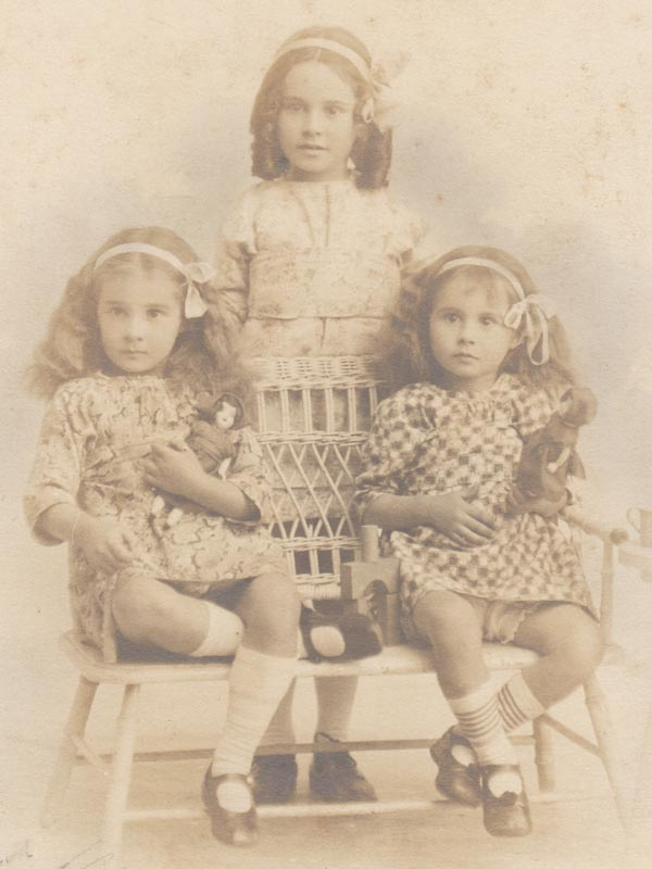 Murray Tatham daughters: Florence Louise, Althea Rose, Elizabeth