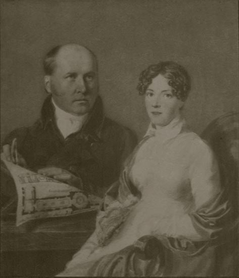 Charles Heathcote Tatham & Harriet Williams