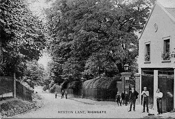 Merton Lodge Coach House, Highgate.
