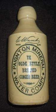 Ginger Beer Bottle